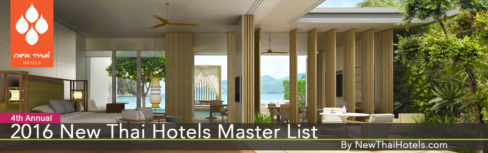 New Hotels in Thailand 2016