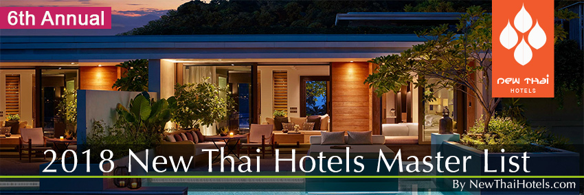 New Hotels in Thailand 2018