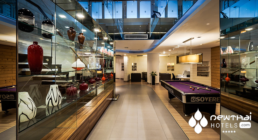 Games room at akyra Thonglor Bangkok