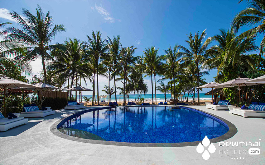 Beachside pool at Akyra Beach Club Phuket