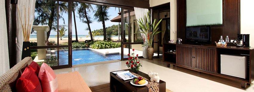 Anantara Layan Beach front pool villa