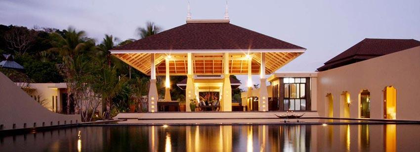 Lobby at Anantara Layan Phuket