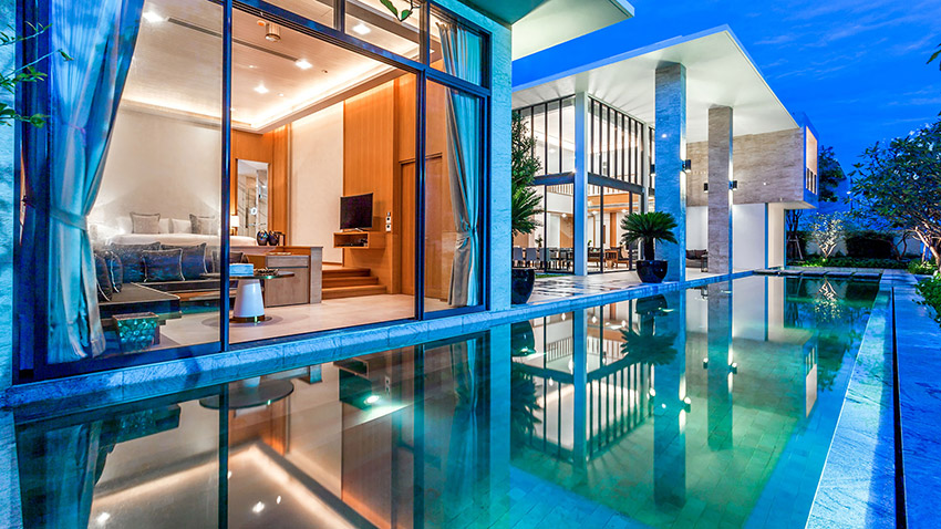 Beachfrom Pool villa at Baba Beach Club Hua Hin - Cha Am Luxury Hotel by Sri Panwa