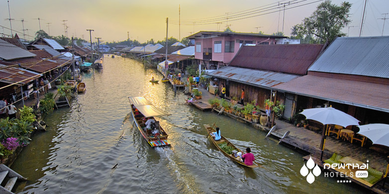 Canal at Amphawa