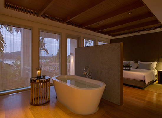 Regent Phuket Cape Panwa suite bathroom