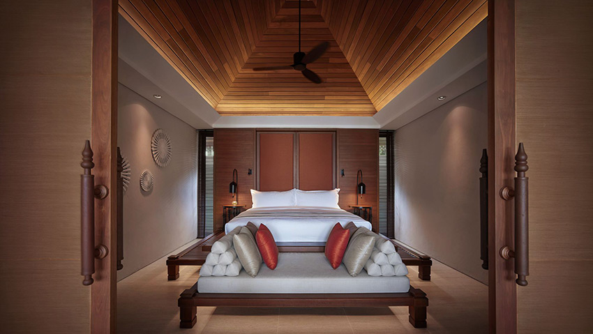 Bedroom at The Ritz Carlton Ko Samui