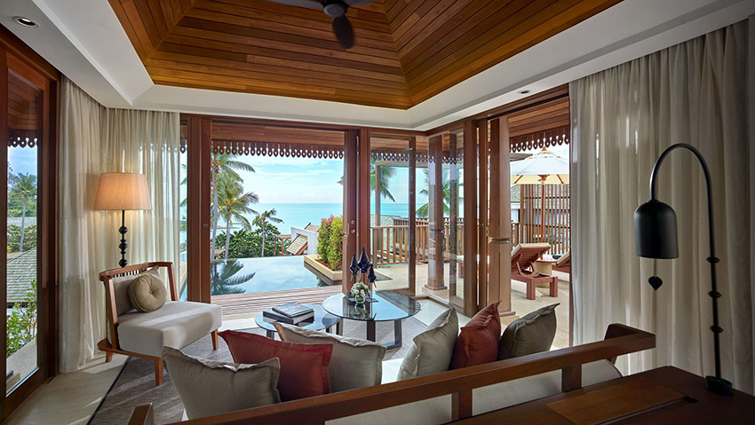 Ocean View Pool Villa at The Ritz Carlton Ko Samui