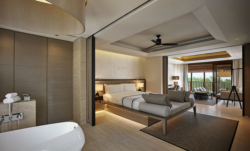 Ocean View Suite at The Ritz Carlton Ko Samui