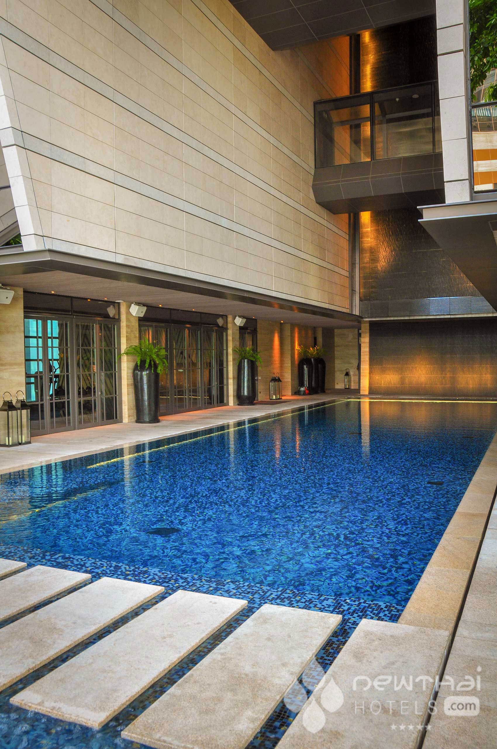 Pool at Rosewood Bangkok