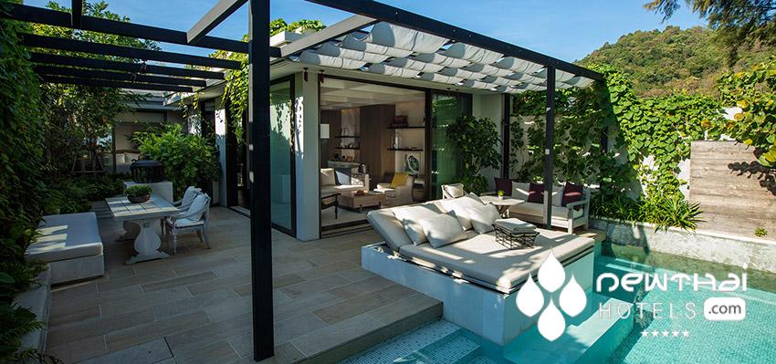 Beachfront Pool Villa at Rosewood Phuket