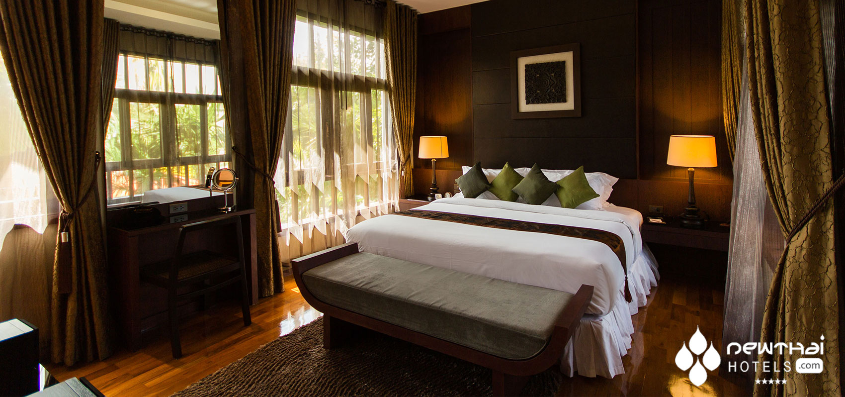 Guest bedroom at Sireeampan Boutique Chiang Mai