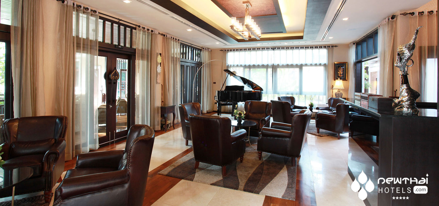 Piano Lounge at Sireeampan Boutique Chiang Mai