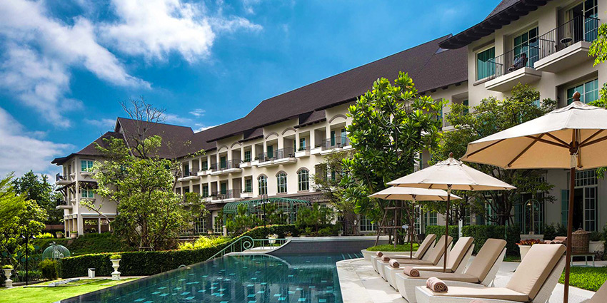 Poolside at U Hotel Khao Yai