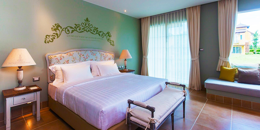 Superior guest room at U Hotel Khao Yai