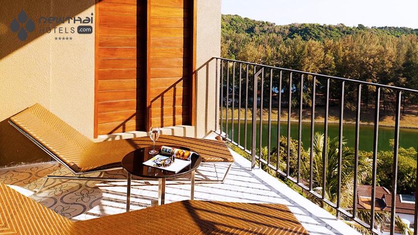 View from private balcony at U Sunsuri Phuket