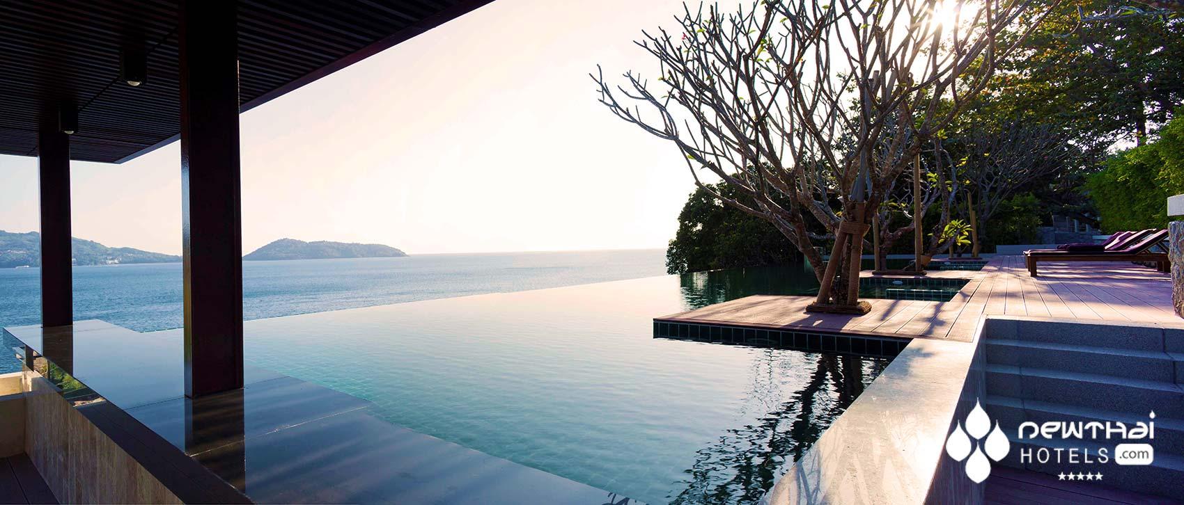 Deluxe Seaview pool at U Zenmaya Phuket