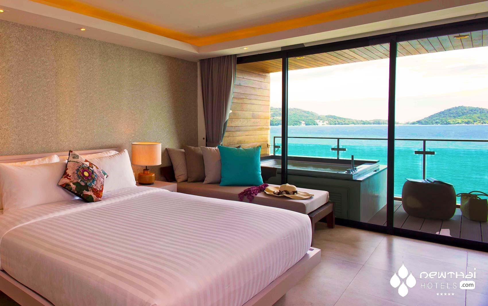 Deluxe Seaview Room at Zenmaya Phuket
