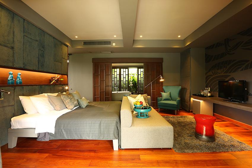 Guestroom at X2 Phuket Oasis Villa