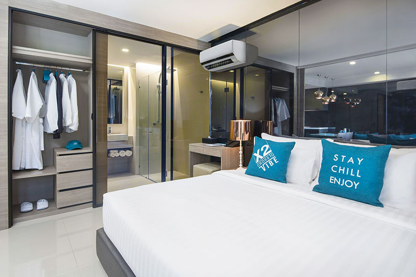 1 bedroom guest room at X2 Vibe Pattaya Seaphere