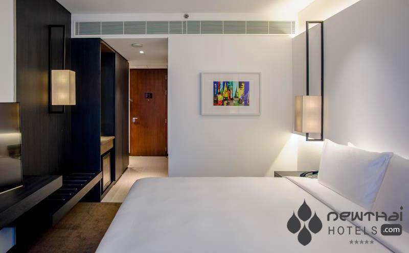 guestroom at Amara Hotel Bangkok
