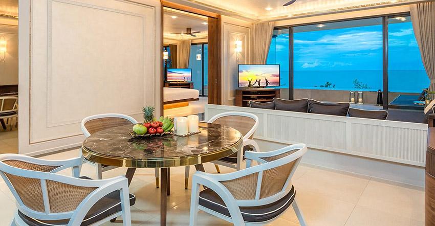 Beachfront Penthouse at Baba Beach Club Hua Hin - Cha Am Luxury Hotel by Sri Panwa