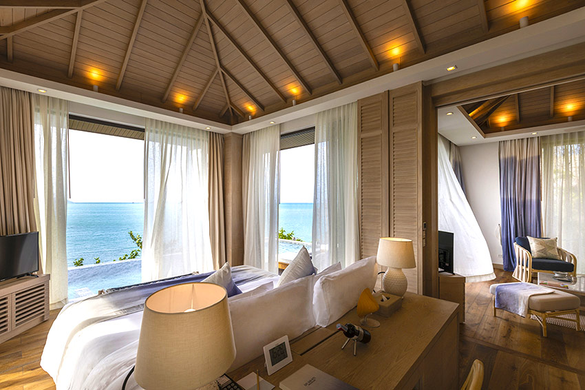 Ocean View Villa at Cape Fahn Hotel Samui