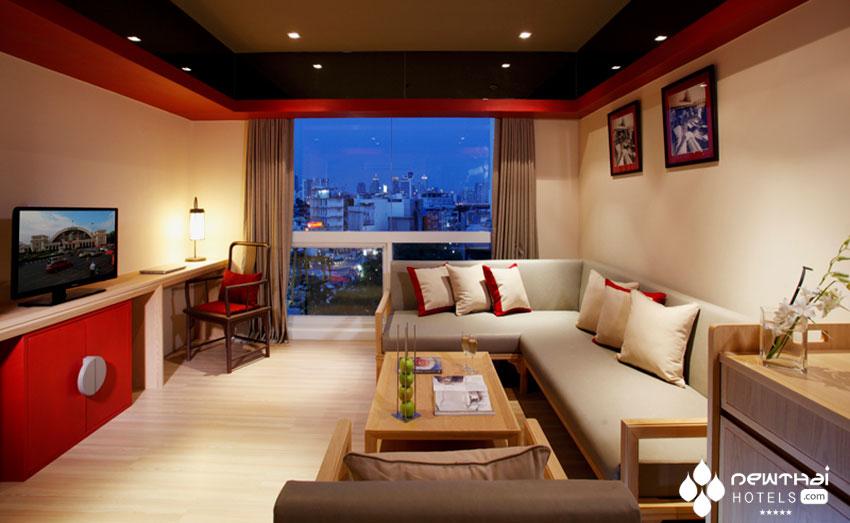 Centra Central Station Bangkok guestroom