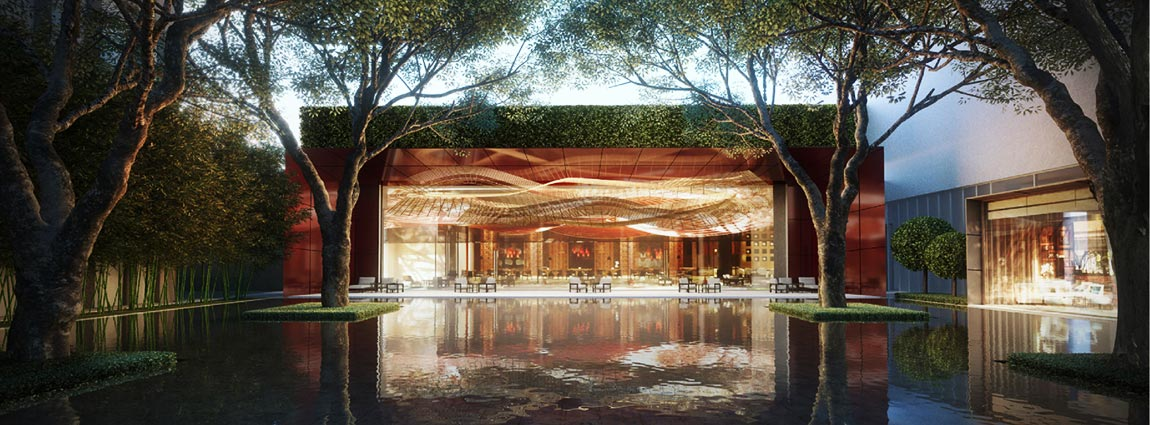 Entrance image of Four Seasons Hotel Bangkok at Chao Phraya River