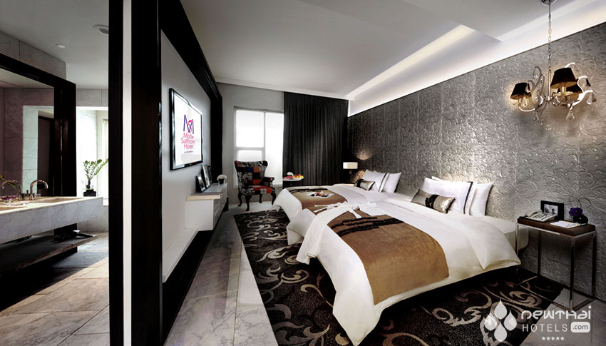 Guestroom at Mode Sathorn by Sian@Siam
