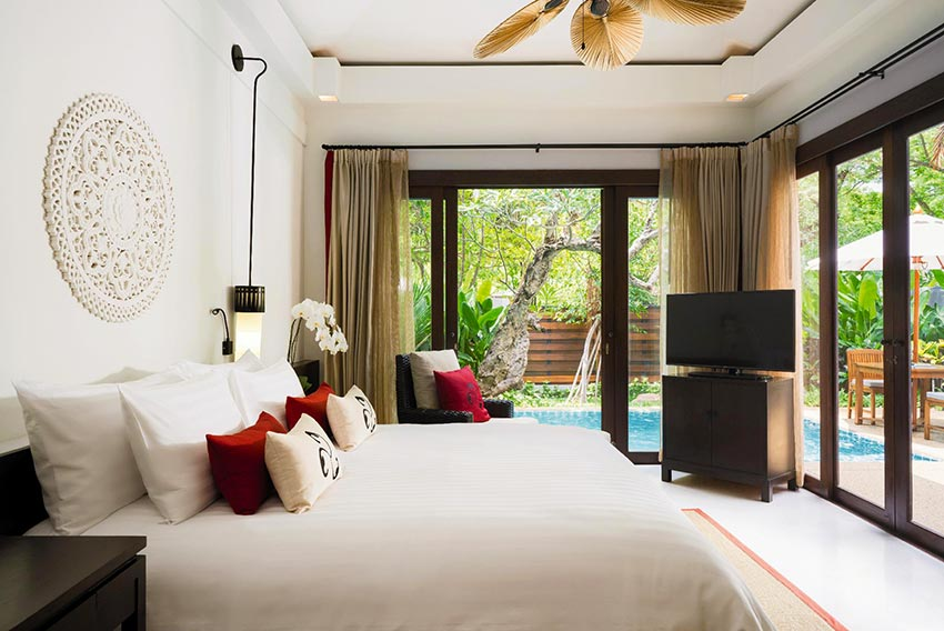 Private pool Villa at Movenpick Asara Hua Hin