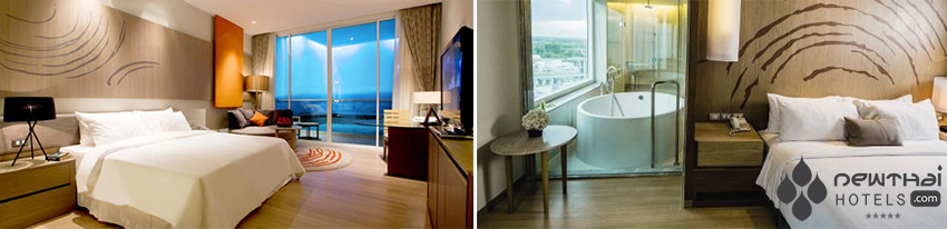 Guestrooms at Movenpick Siam Hotel Pattaya