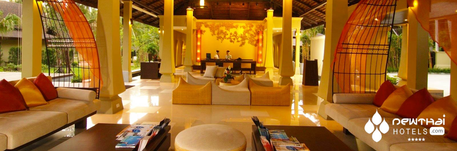 Lobby at Mövenpick Resort Laem Yai Beach Samui