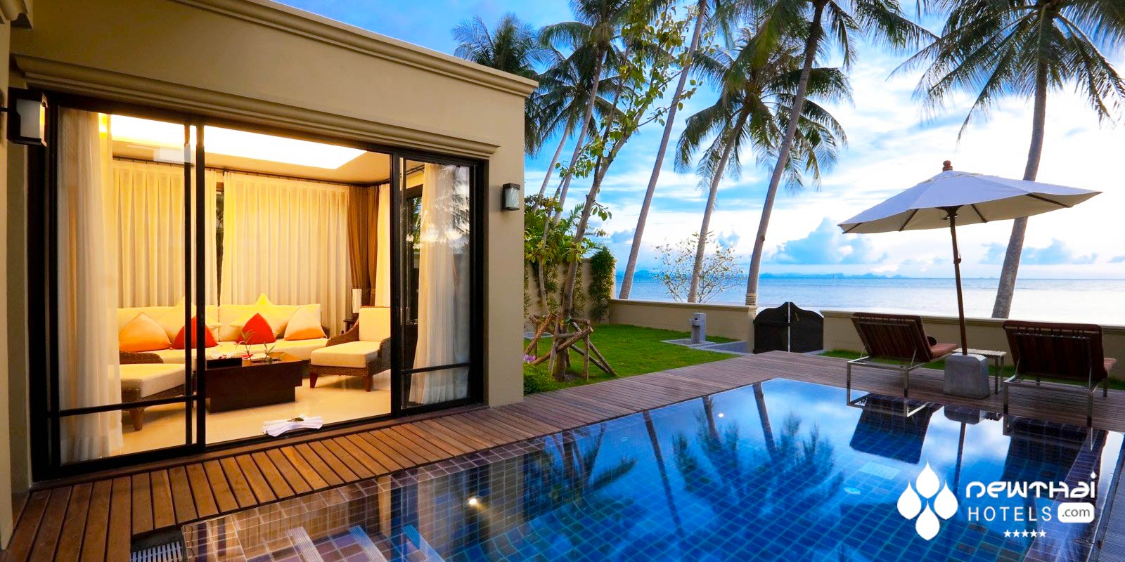 Pool villa at Mövenpick Resort Laem Yai Beach Samui,
