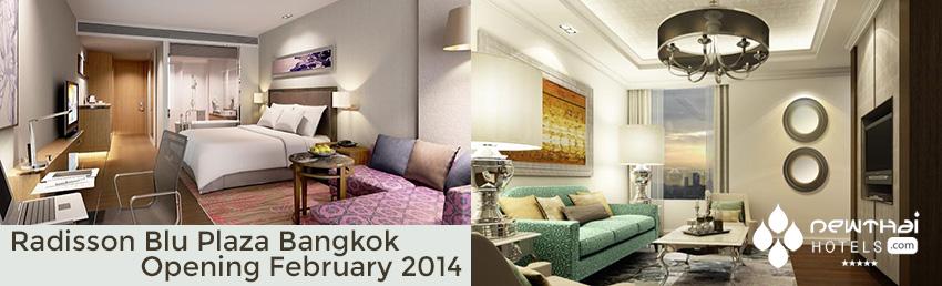 Guestrooms at Radisson Blu Plaza Bangkok