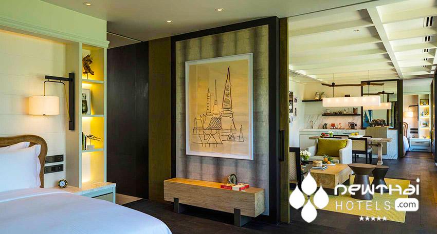 2 Bedroom Ocean view Pool Pavilion at Rosewood Phuket.