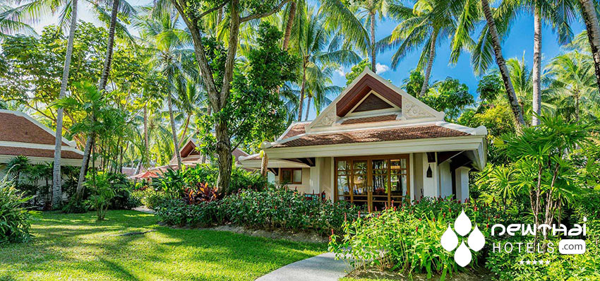 Villa at Santiburi Beach Resort & Spa on Koh Samui.
