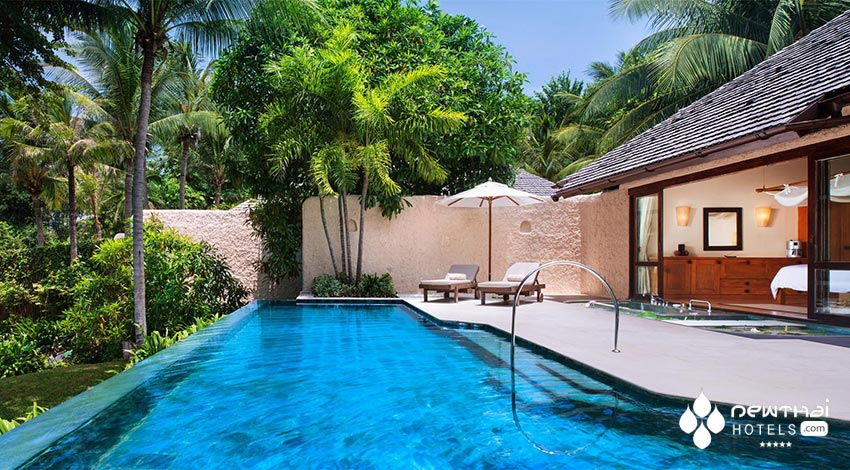 Pool Villa at the recently rebranded Sheraton Hua Hin Pranburi Villas