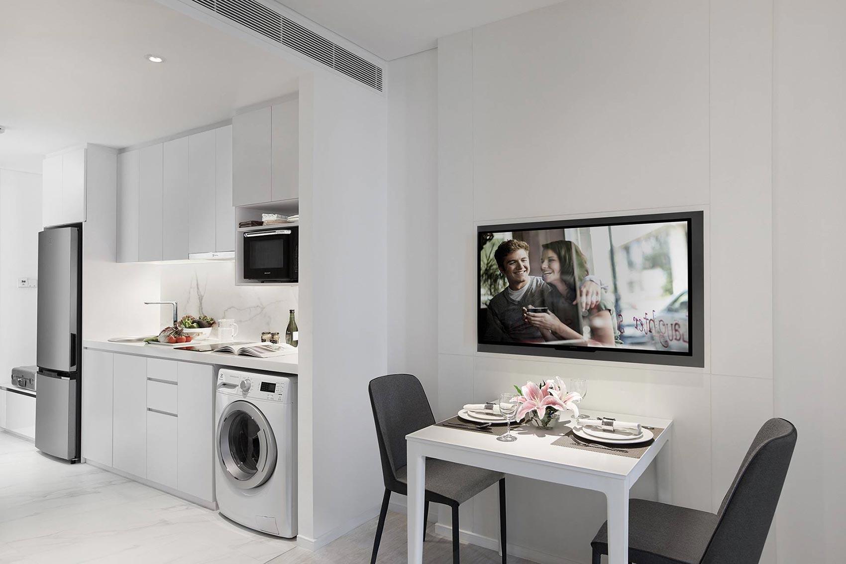 Somerset Maison Asoke kitchenette