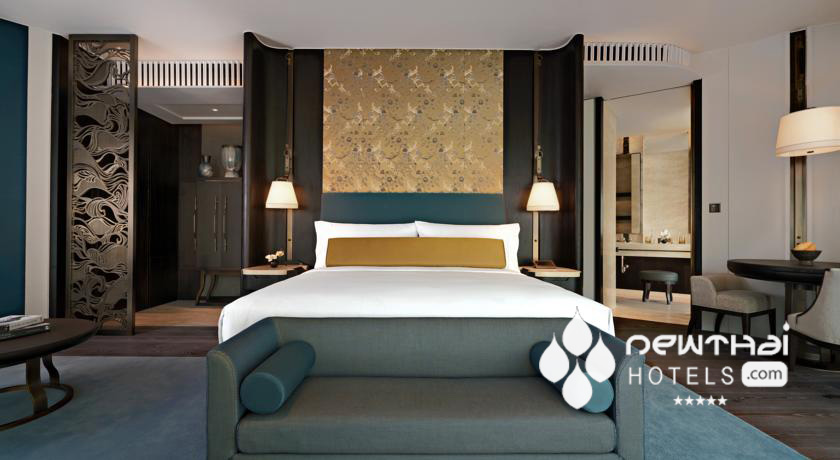 Guestroom at The Waldorf Astoria Bangkok